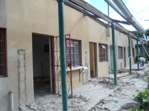 Ndala Hospital Under contruction
